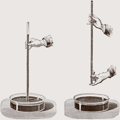 Illustration of early barometer technology
